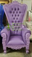 Kursi Shabby Chic Warna Baby Purple
